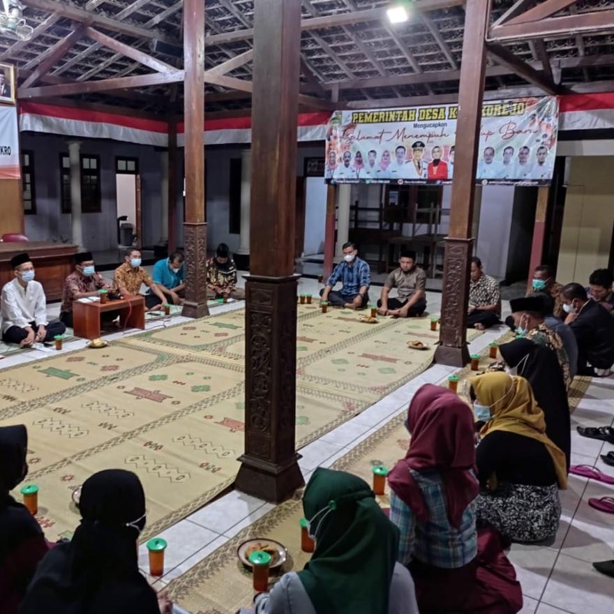 Silaturahim Takmir Masjid Al Ma'ruf Dk. Grogol den